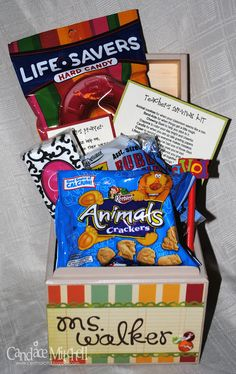 Teacher's Survival Kit 3 - Scrapbook.com
