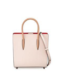 Paloma Small Triple-Gusset Tote Bag, Nude