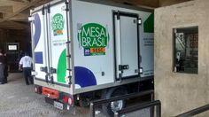 Galeria de Olho Digital Programação Visual - Adesivos d 5000 com verniz, instalados na frota de caminhões do mesa Brasil - SESC www.olhodigital.art.br comercial@olhodigital.art.br  11 56779292