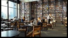 book cafe korea