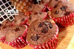 Damla Çikolatalı Muffin (Lezzeti Garanti)
