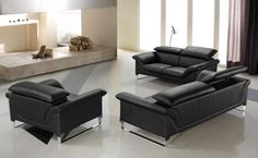 36 Best Black Leather Sofa images in 2019 | Black leather sofas ...