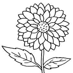 Looking for a Dahlia Flower Coloring Pages. We have Dahlia Flower Coloring Pages and the other about Coloring Page Fun it free. Sunflower Coloring Pages, Flower Coloring Sheets, Rose Coloring Pages, Garden Coloring Pages, Printable Flower Coloring Pages, Printable Christmas Coloring Pages, Butterfly Coloring Page, Coloring Pages For Girls, Cartoon Coloring Pages
