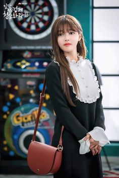 Clean With Passion For Now Korean Photo, Korean Drama, Korean Actresses, Korean Actors, Actors & Actresses, Kim Yoo Jung Photoshoot, Kim You Jung, Best Kdrama, Hair