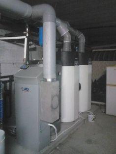 Αντλία θερμότητας για ζεστά νερά χρήσης στο ξενοδοχείο «Litohoro Resort Villas and Spa»