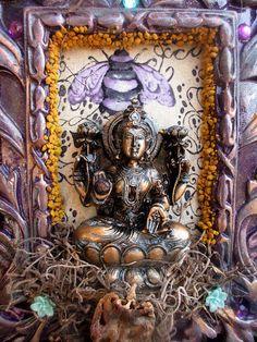 Rita's Lakshmi Altar Shrine  Well Being for by RitaSpiritualGoods
