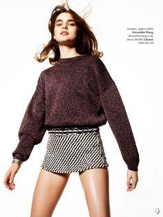 league of her own: ali michael by philip gay for elle australia january 2014…