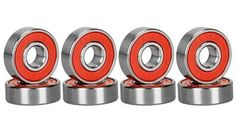 Spruce Skateboard Bearing ABEC-9/ABEC-11 High Speed Skating Steel Wheel Roller