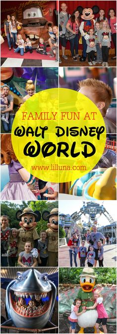 Family FUN at Walt D