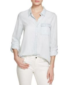 Soft Joie Onyx Chambray Shirt | Bloomingdale's