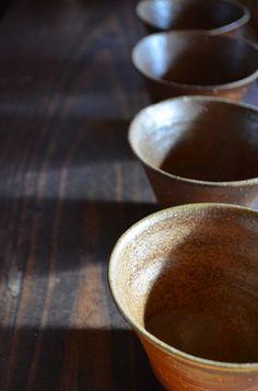 納豆やデザートに、備前焼の深鉢   備前焼わかくさブログ