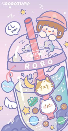 Soft Wallpaper, Cute Wallpaper For Phone, Emoji Wallpaper, Iphone Background Wallpaper, Kawaii Wallpaper, Cute Food Drawings, Cute Kawaii Drawings, Kawaii Art, Wallpaper Notebook