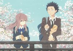 Anime Koe No Katachi  Shouya Ishida Shouko Nishimiya Wallpaper
