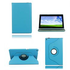 360 Degree Rotating PU Leather Case For 10.1 Inch Sony Tablet Z