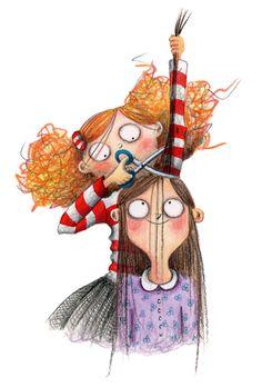 BOOK | Hallo, hallo wie stinkt daar zo. Illustratie, Marieke Nelissen.