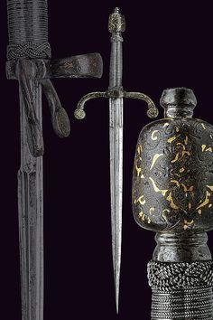 A beautiful left hand dagger, Italy, ca 1600.
