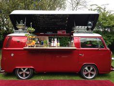 VW Campervan Bar, Cocktail Car