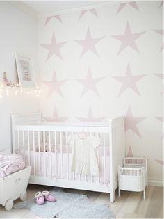 nursery | white wood floors