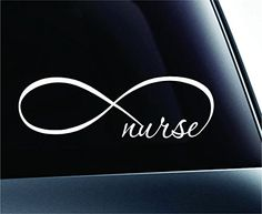 Infinity Nurse Symbol Decal Funny Car Truck Sticker Window (White) ExpressDecor http://www.amazon.com/dp/B00RW2LTAY/ref=cm_sw_r_pi_dp_RsfRub0BG5D89