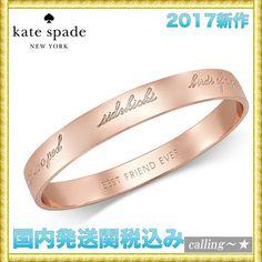 セレブ愛用者多数☆kate spade new york☆Bangle Bracelet
