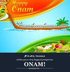 Happy #Onam,#Kerala #Festival in #India
