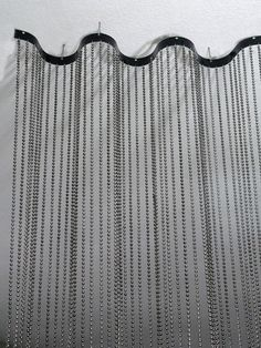 Real Steel Ball Chain Curtains Studio Pinterest Real steel