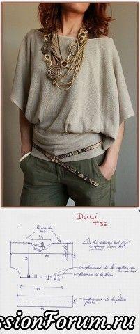 Шьем красивые блузки