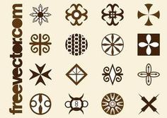 Tribal Icons Graphics By freevector in Vector Art