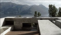 You know that BBQ area you were planning on building?This one's better. Brissago House Switzerland Wespi de Meuron Romeo by lucdesign