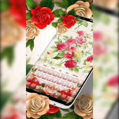 The Ok, Digital Revolution, Being Used, Keyboard, Android, Bouquet, Roses, Apps, Graphic Design