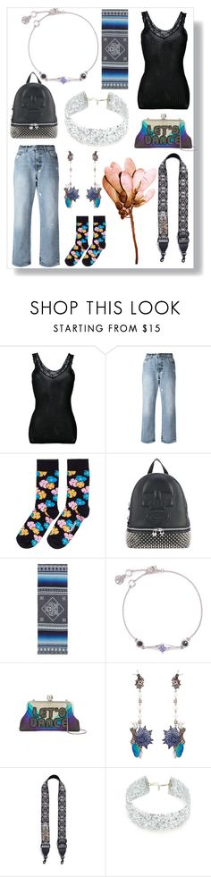 """Fashion is what you buy"" by emmamegan-5678 ❤ liked on Polyvore featuring Helmut Lang, Alexander McQueen, Happy Socks, Philipp Plein, Kenzo, Heting, Sarah's Bag, Wendy Yue, Rebecca Minkoff and DANNIJO"
