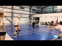 Volleyball Passing Drills, Volleyball Gifs, Volleyball Skills, Volleyball Practice, Volleyball Clubs, Volleyball Training, Volleyball Workouts, Coaching Volleyball, Beach Volleyball