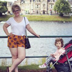 pattern shorts plus size outfit  Ania (@curvyliciousbyanna) • Zdjęcia i filmy na Instagramie