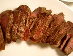Lauren's Latest » Steak: its a beautiful thing.. How to cook a perfect medium steak without a grill.