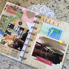 Mais uma página pronta no memory 😊😄tô adorando fazer!  .  .  .  #plannerspread #planneraddict #planner2017 #memoryplanner #scrapbook #smashbook #spreadlove #happyplanner #photography #travel #plannercommunitybrasil #eusouvep #journal #journaling