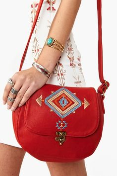 Inca Crossbody Bag. I will definitely get this for school