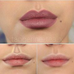 Fuller lips using contouring techniques