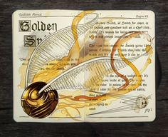 .: Golden Snitch by Picolo-kun on DeviantArt