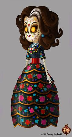 Carmen (The Book of Life) painting by Alison Donato