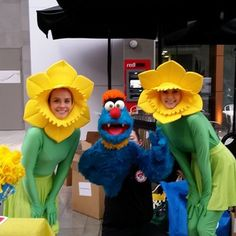 #Troggg at #DaffodilDay.