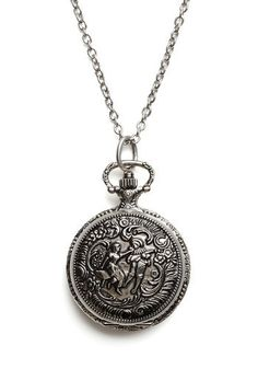 pocket watch necklace. a nice prep detail.