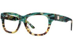 Gx By Gwen Stefani Eyeglasses Green/Tortoise Cool Glasses, New Glasses, Glasses Frames, 2017 Glasses, Gwen Stefani, Fashion Eye Glasses, Four Eyes, Designer Eyeglasses, Prada Eyeglasses