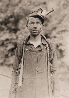 """""""Brown Mine, West Virginia"""" by Lewis Hine"""
