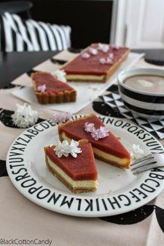 Rhabarber-Cheesecake - B l a c k C o t t o n C a n d y