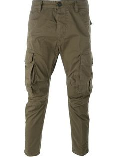 DSQUARED2 Cropped Trousers.  dsquared2  cloth  trousers 29c65ce922