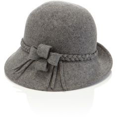 Accessorize Plaited Trim Cloche Hat (23 CAD) ❤ liked on Polyvore featuring  accessories d7a6cf7bf1ac