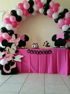 145 Best Minnie Mouse Theme First Birthday Images Minnie Mouse