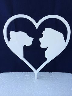 Okay, not Disney, but would be cute to use lions (like your Save the Dates) for wedding cake topper
