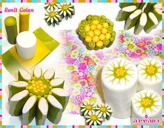 Tutorial: Daisy Cane, polymer clay