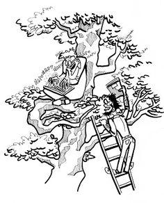 Herkkupurkki: piirros, humor, office, writer By: Satu Laaninen